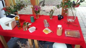 Clive's selection of products of the hive and bee forage