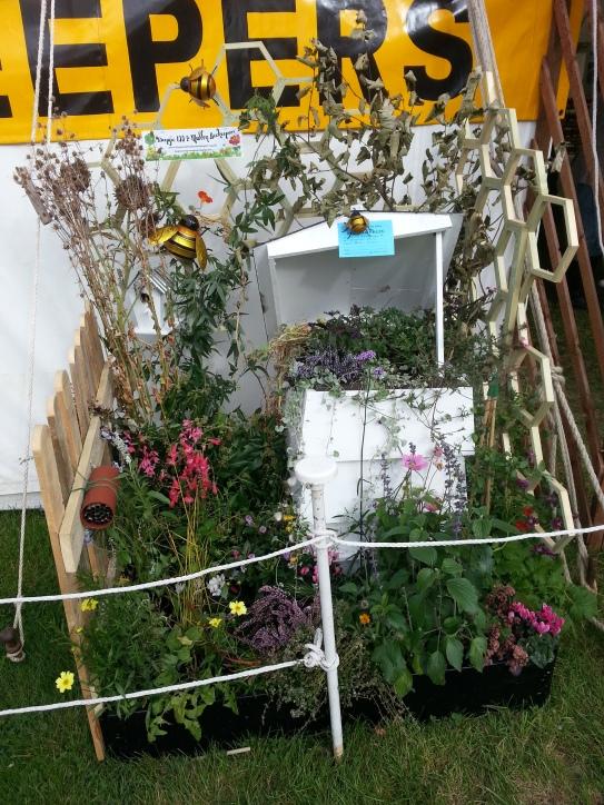 beekeeping garden display