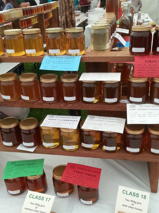 Honey on display